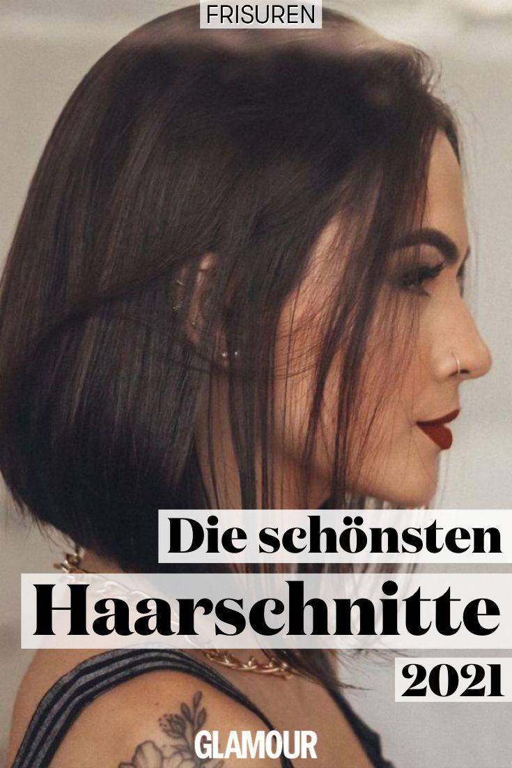 Haarschnitte 2021 Diese Frisuren Tragen Wir Jetzt Haarschnitt Frisuren Haarschnitte Haarschnitt Gerade Haare
