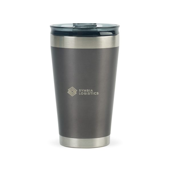 Stay Hydrated Using This Tough Handy Stainless Steel Tumbler With A Capacity Of 16 Ounces This Single Serve F Stainless Steel Tumblers Tumbler Double Walled
