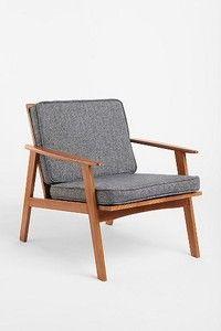 Danish Mid Century Scandinavian Dagmar Chair Furniture | eBay