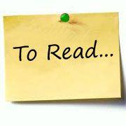 La mia lista di libri da leggere assolutamente!  A dispetto di tutte le liste che il mondo vuole costringerci a leggere per forza, ecco l'elenco dei libri che prima o poi desidero leggere. In continuo aggiornamento!