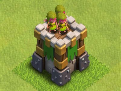 Clash of Clans Archer Tower   Clash of Clans Tactics