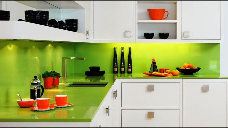 23 Popular Bright Color for Your Kitchen