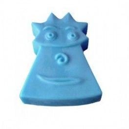 Molde para hacer jabón Pastilla Punky. Molde de Silicona Artesanal Pastilla 2D,  Pastilla infantil, ideal para hacer con niños. DIY.