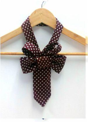 Refashioned men's tie