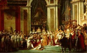 Le sacre de Napoléon 1er, Jacques Louis David-1807
