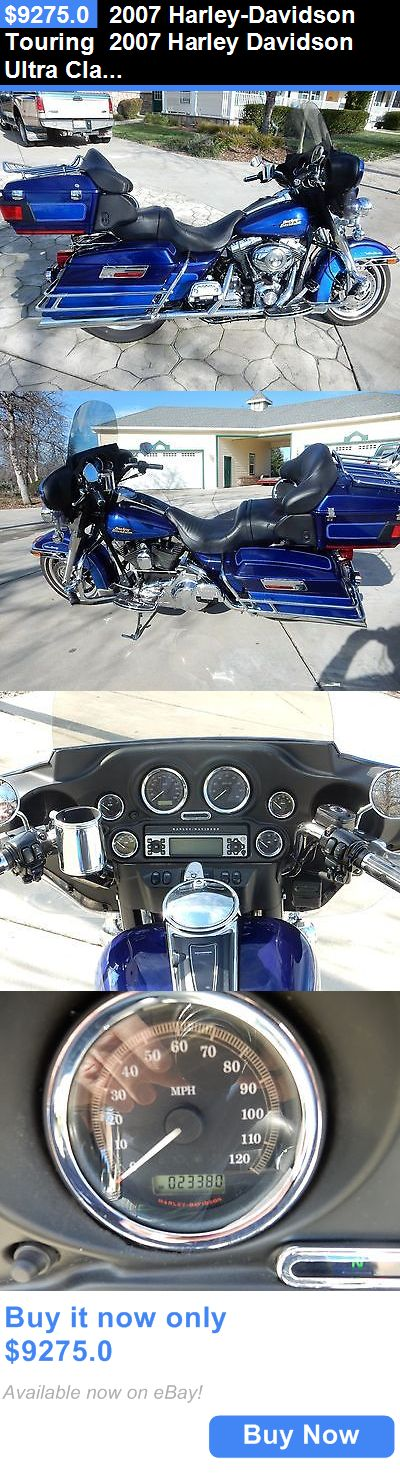 Motorcycles: 2007 Harley-Davidson Touring 2007 Harley Davidson Ultra Classic BUY IT NOW ONLY: $9275.0