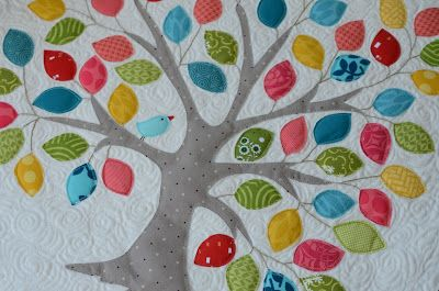 Hyacinth Quilt Designs: Tree Appliqué