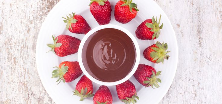 treat yourself: Vegan and Amazing Chocolate Fondue