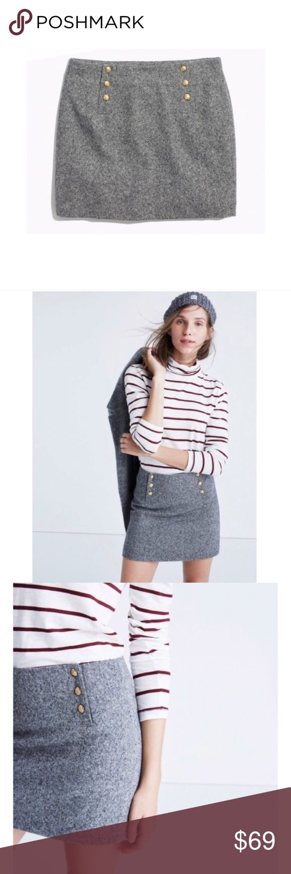 Madewell et Śezane Wool Skirt A collaboration between Madewell and Śezane. 100% authentic from Madewell. Wool blend. Never been worn! SOLD OUT EVERYWHERE!! Madewell Skirts Mini