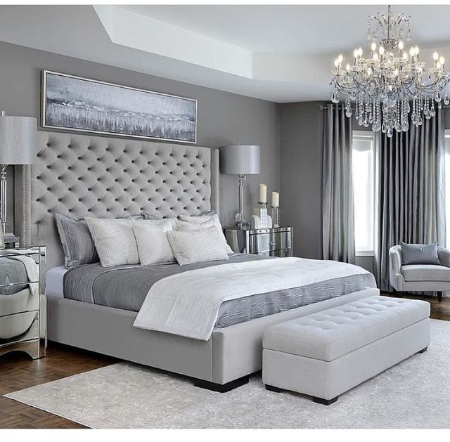 Pin By Gigi Wade On Master Bedroom Grey Bedroom Design Simple Bedroom Design Master Bedrooms Decor