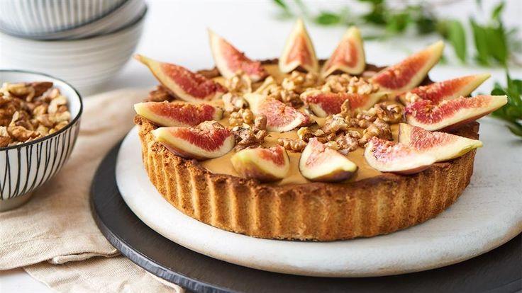 Tarta z masą krówkową i figami  - poznaj najlepszy przepis. ⭐ Sprawdź składniki i instrukcje na KuchniaLidla.pl!