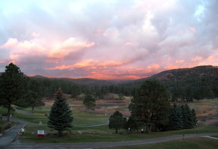 Sunrise in Ruidoso New Mexico