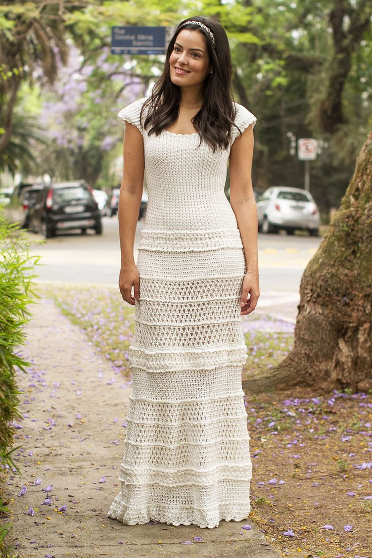 Vanessa Montoro designed maxi dress | I am in awe with her.  All her designs are gorgeous!