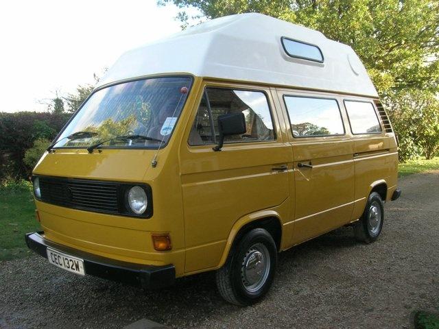 VW camper t25   Used camper vans, Vw camper, Motorhome