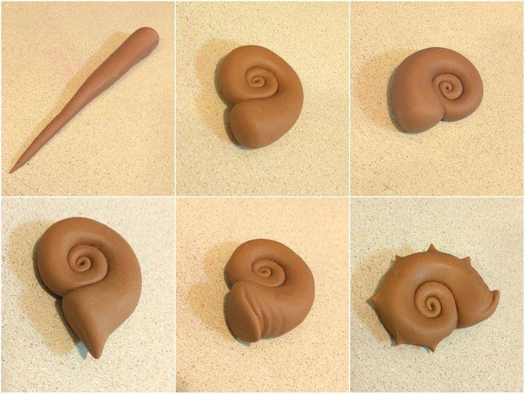 Seashells with Sugar Shapers