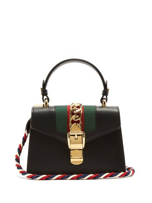 f9dbb1812796c3 Gucci Sylvie mini leather cross-body bag | BAGz | Bags, Leather ...