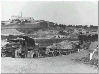 Brazilian convoy in Torre di Nerone
