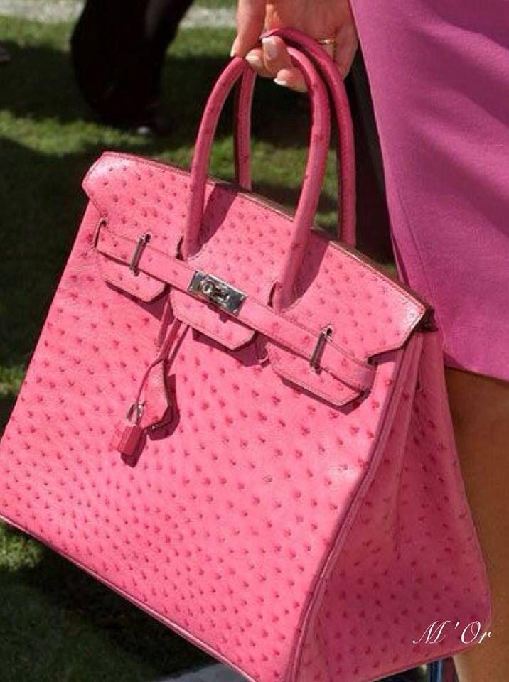 Luxurious Birkin bag by Hermes.....pink!!!!