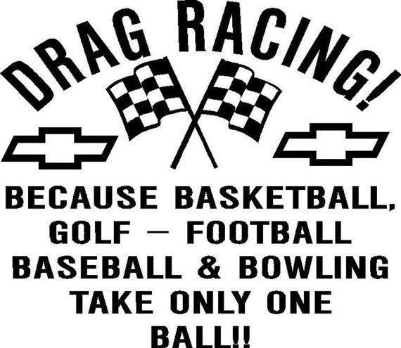 Drag Racing Sticker......  Oh MY by NickelandDimeInc on Etsy, $5.00