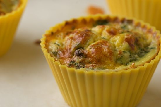 Portable Omelette: Southwest Style Egg Muffins Recipe More