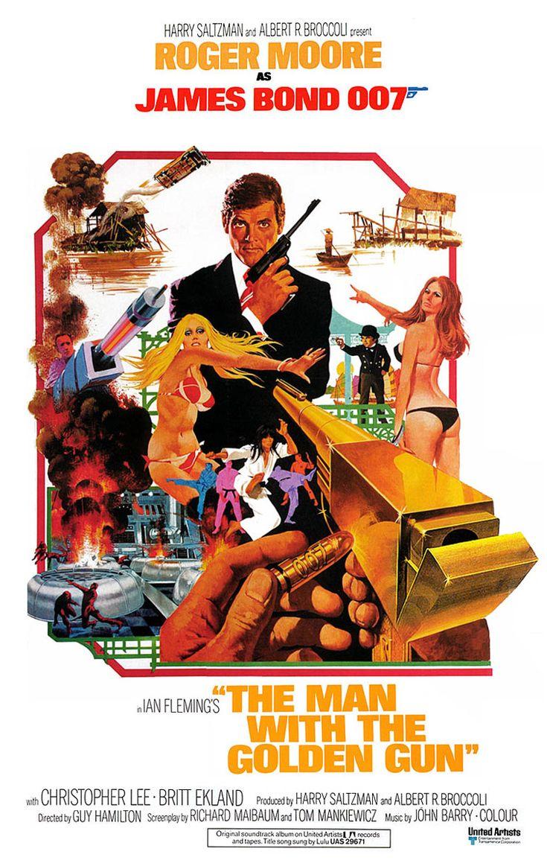 L'Homme au pistolet d'or (The Man with the Golden Gun) est un film britannique réalisé par Guy Hamilton et sorti en 1974. C'est le 9e opus de la série des films de James Bond produite par Albert R. Broccoli et Harry Saltzman, par l'intermédiaire de leur société EON Productions. Roger Moore incarne James Bond pour la seconde fois. C'est le quatrième et dernier film de la série réalisé par Guy Hamilton.  L'Homme au pistolet d'or est l'adaptation cinématographique du roman éponyme de Ian…