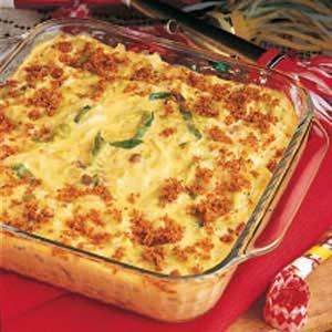 Cabbage Casserole Recipe -Even those who don't care for cabbage will enjoy it make this way. This tangy, creamy, comforting side dish goes exceptionally well with pork roast. —Ruby Williams, Bogalusa, Louisiana
