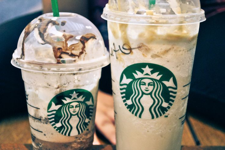 Frappuccinos | Image source: Thoughtcatalog.com