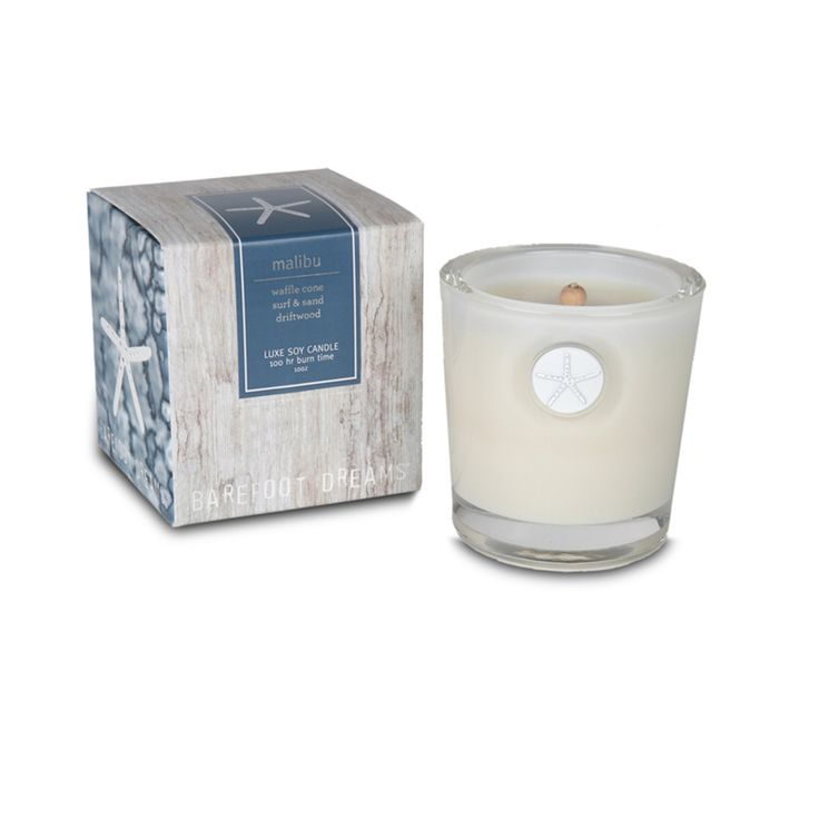 Barefoot Dreams Malibu Luxe Soy Candle $44