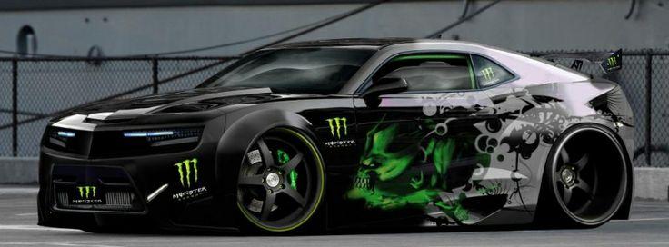 monster energy camaro #cars #facebookcovers #camaro #monsterenergy
