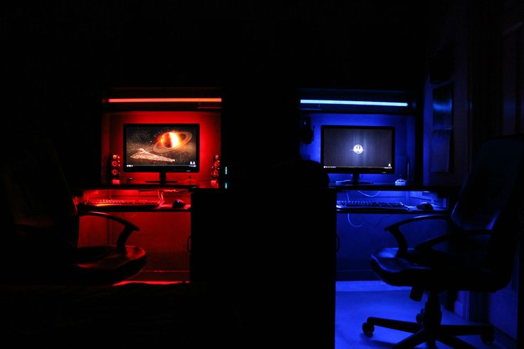 His and Her | Mr. & Mrs. gaming setups