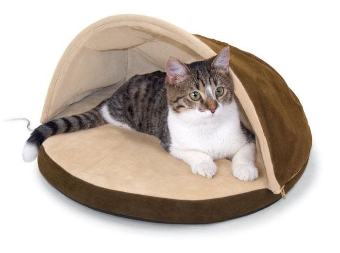 thermo hut heated cat bed - Heated Pet Beds