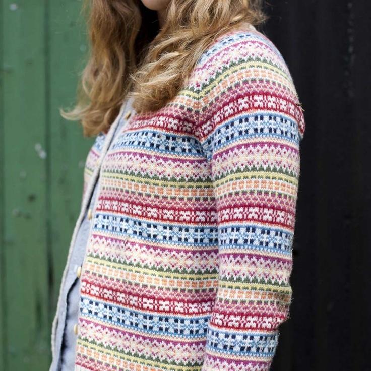 55 best Fair Isle images on Pinterest | Fair isle knitting, Hand ...