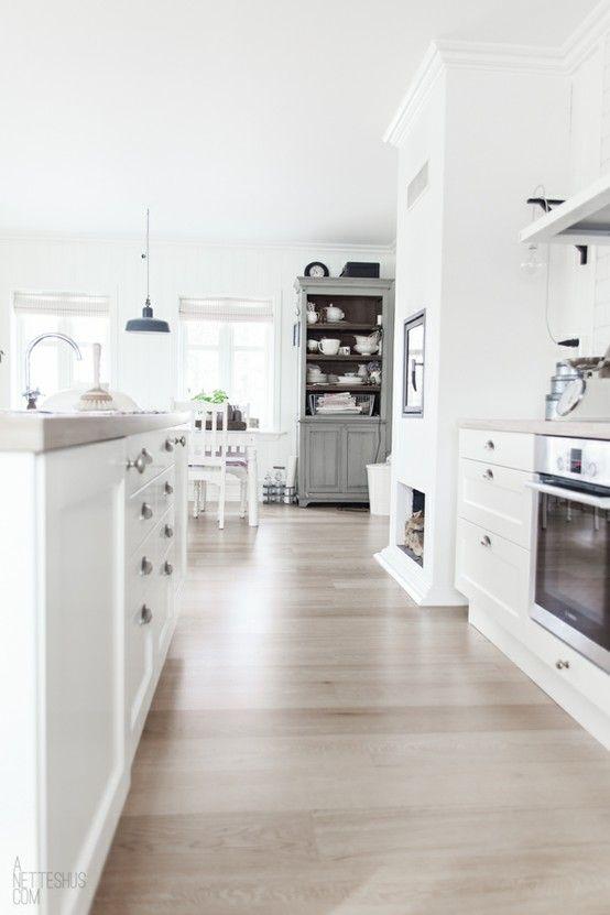 Scandinavian Flooring, grey piece in kitch