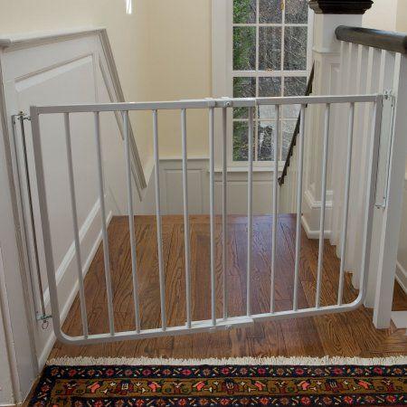 Cardinal Gates Stairway Special Hardware Mounted Pet Gate Black 27