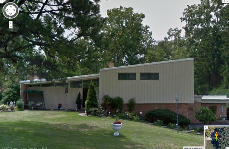 Mid Century Modern Split Level Rockford Ill Houses