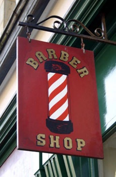 The history and symbolism of the barber's pole. (thechirurgeonsapprentice.com)