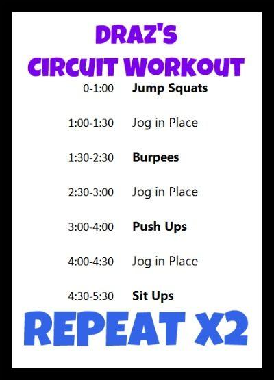 Playground Workout Routine
