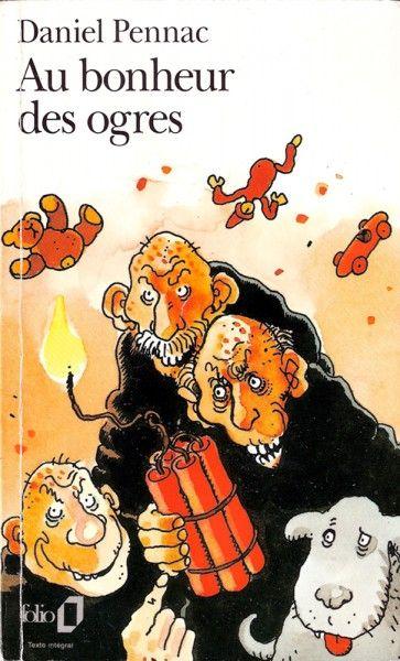 Pennac - Au bonheur des ogres (ill. couverture par Jacques Tardi)