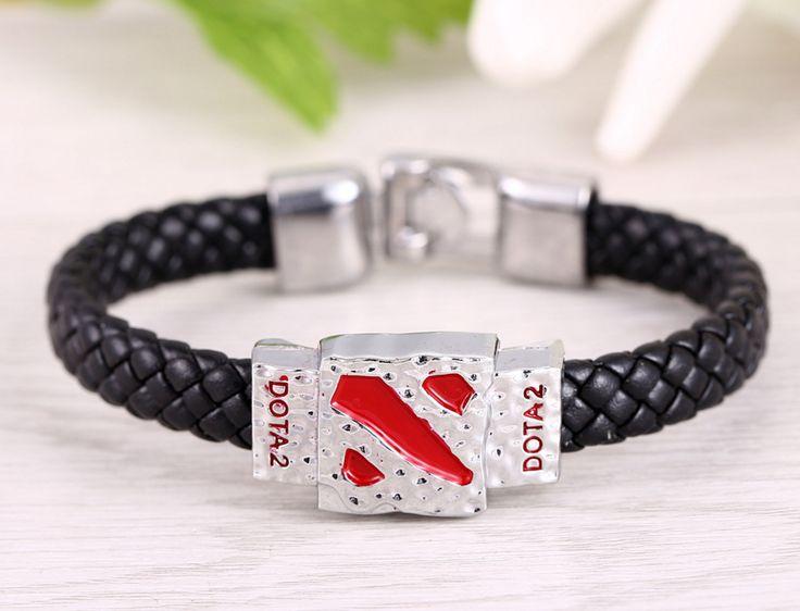 DOTA 2 Leather Bracelets