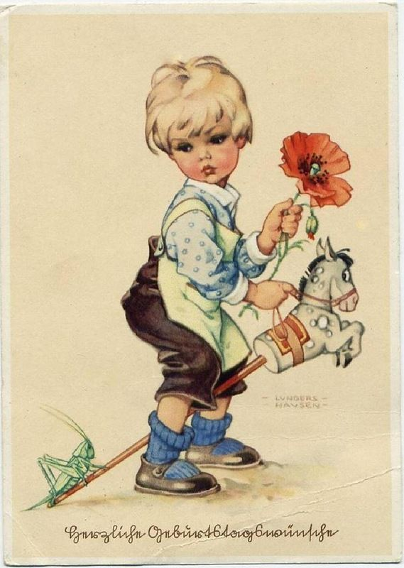 Продать немецкие открытки, открытка плейкаст
