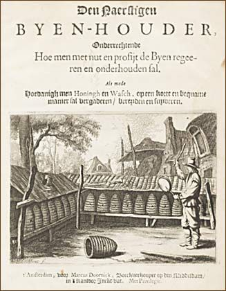 Engraving from Dutch book: Tanging
