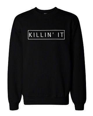 If you are looking for a high quality graphic sweatshirts this season, this is it! Made in USA, our sweatshirts are individually printed using a digital printer and quality is assured. - Graphic Sweat
