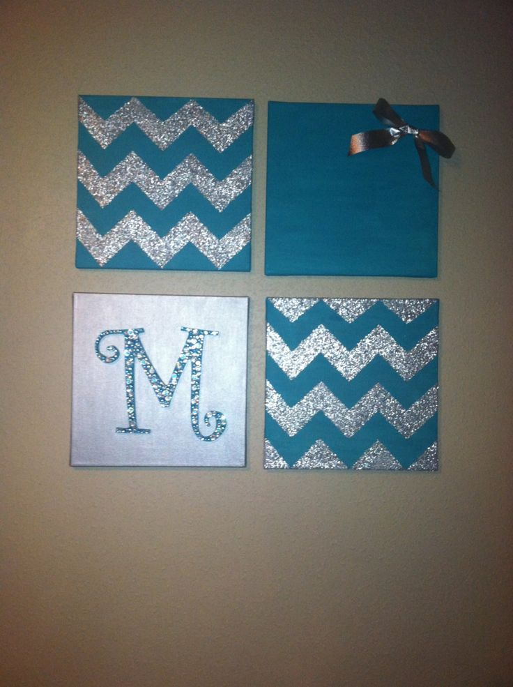 Maybe do this with a B & Michigan & Chevron with Navy Blue.