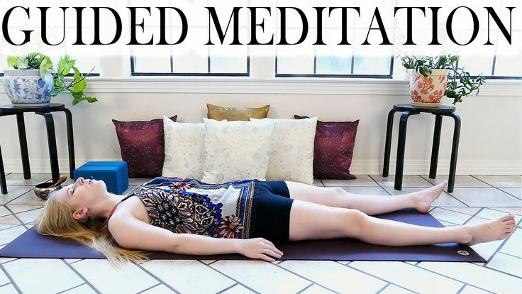 Guided Meditation For Deep Relaxation, Anxiety, Sleep or Depression – Be...
