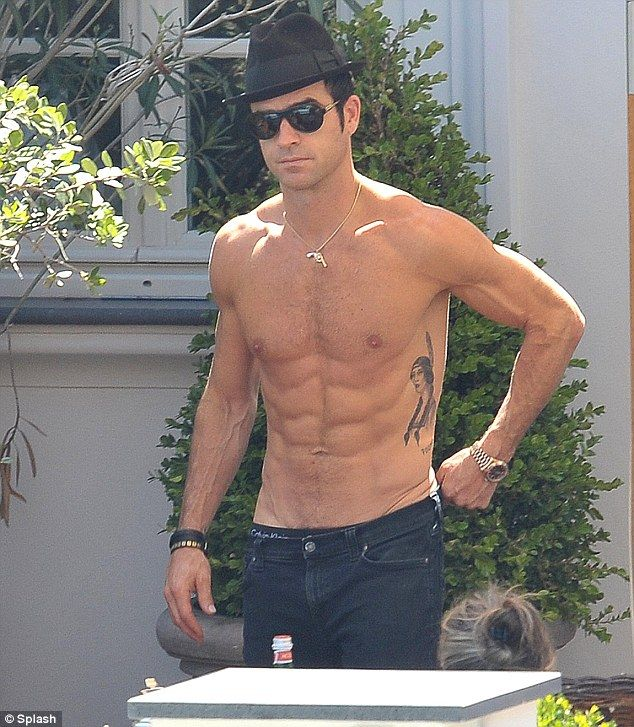 Justin Theroux. Yum!