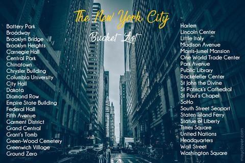 The New York City Bucket List