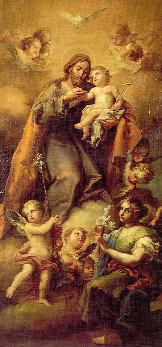 Meditaciones sobre San José por Fr. Carlos Lledó López O.P. en la web de la Cofradía del Rosario de Santo Domingo el Real.