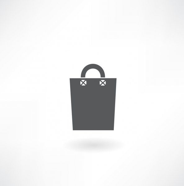 Paper Bag Icon Stock Vector Affiliate Bag Paper Icon Vector Ad Bag Icon Image Paper Icon