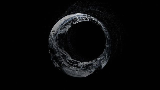 """Infinity Water"". Director: Rimantas Lukavicius -  VFX / Design company: KORB. Music: Turquoise Hexagon Sun - Boards Of Canada."