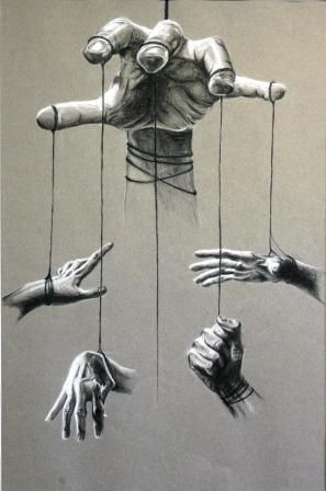 Marionette Hands by other-peoples-poetry